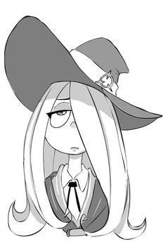 Bedtime doodle of Sucy @nasakii