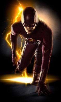 """""""The Flash"""" en su traje de trabajo... - Comics en 8mm"""
