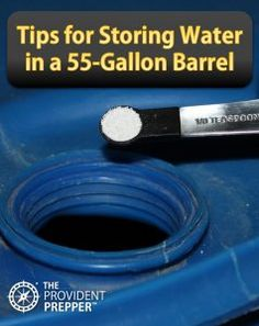 Copyright Your Family Ark LLC Water Tips for Storing Water in a Plastic Barrel Survival Life Hacks, Survival Items, Survival Prepping, Survival Skills, Bushcraft Skills, Survival Books, Survival Stuff, Urban Survival, Homestead Survival