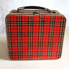 """My old metal lunch box! Believe it or not, I had this exact lunch box! """"1965""""."""