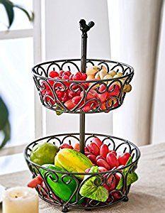 Amazon.com: SparkWorks Fruit Basket: Kitchen & Dining