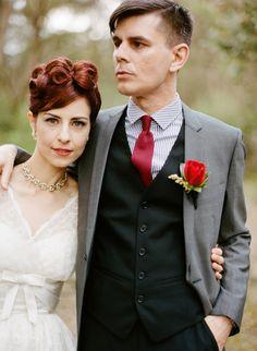 Retro Melbourne, Australia Wedding