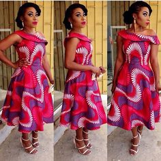 Beautiful Ankara style http://www.dezangozone.com ~African fashion, Ankara, kitenge, African women dresses, African prints, African men's fashion, Nigerian style, Ghanaian fashion ~DKK