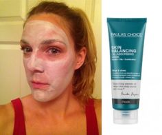 Paula's Choice Skin Balancing Oil-Absorbing Mask makes skin look more matte and smooth in just one use!