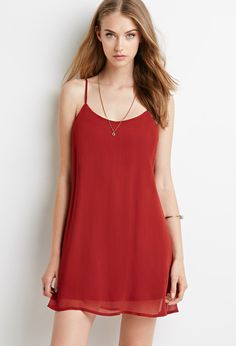 Crinkled Chiffon Cami Dress | Forever 21 - 2000052179