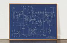 Electric Love Blueprint: Die Geschichte elektronischer Musik als Poster - unhyped.