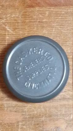 style Vintage tin imari