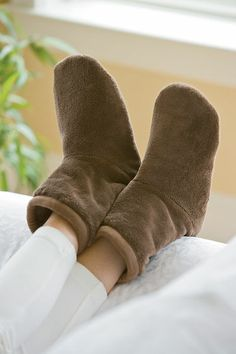 These cozy chenille warm up boots that are the cure for tired feet and winter chills.