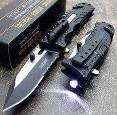 Tac Force Sheriff LED KNife good pocket knives