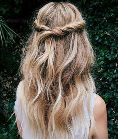 Soft Tendrils   Wedding half updo styles we are coveting right now / Half up twisted hairstyle / wedding hairstyles / hairstyles for weddings / long hair with twists / hairstyles for long hair