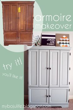 My Boju Life: Our Armoire Makeover!