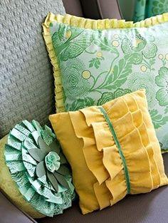 felt fabric pillows