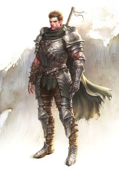 Mercenary by Gpzang armor clothes clothing fashion player character npc | Create your own roleplaying game material w/ RPG Bard: www.rpgbard.com | Writing inspiration for Dungeons and Dragons DND D&D Pathfinder PFRPG Warhammer 40k Star Wars Shadowrun Call of Cthulhu Lord of the Rings LoTR + d20 fantasy science fiction scifi horror design | Not Trusty Sword art: click artwork for source