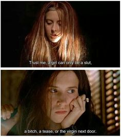 Ginger snaps I could literally watch this movie everyday Horror Quotes, Movie Quotes, Badass Aesthetic, Aesthetic Grunge, Ginger Snaps Movie, Katharine Isabelle, Men Aint Shit, Tv Girls, Snap Quotes
