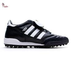 Adidas - VS Skate - AQ1484 - Couleur: Blanc-Bleu-Noir - Pointure: 44.0 Chaussures basses en Cuir Bleu Aster iaBQEiJ
