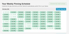 Tailwind Smart Schedule Weekly Schedule, Pinterest Marketing, Thing 1, Learning, Blog, Studying, Blogging, Teaching, Onderwijs