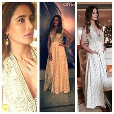 Carrying the summer-ED Indo-western with what grace... Here's @nargisfakhri for you. Styled by me on ocassion of her app launch
