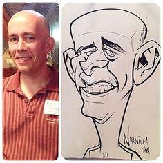 Resultado de imagen para live caricature