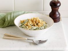 Microwave Creamed Spinach Recipe : Food Network Kitchen : Food Network - FoodNetwork.com