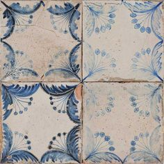 Peronda Francisco Segarra FS OLDKER. Beautiful classic Spanish tile. Perfect for Art Déco, Jugendstil houses. Or fans of shabby chic.