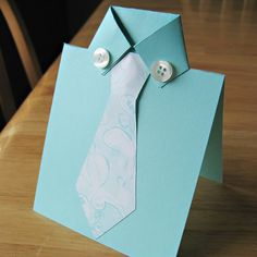 Fathers Day Tie Card