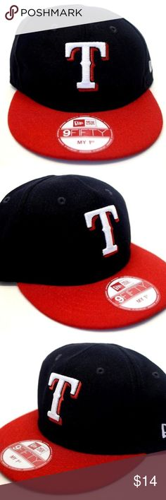 106b21227d8 Men s New Era Texas Rangers My 1st 9Fifty Cap NEW!! Men s Texas Rangers My  1st 9Fifty Snapback New Era Cap Brand  New Era Size  OSFM 100 % Authentic  ...