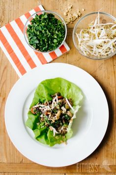 HEALTHY & EASY Turkey Lettuce Wraps ... just like PF CHANGS ... but more healthy!
