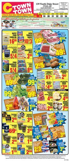 Ctown Circular Flyer December 18 - 25, 2015 - http://www.olcatalog.com/grocery/ctown-circular-flyer.html