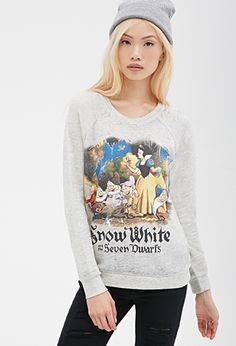 Snow White Raglan Sweatshirt | FOREVER21 - 2000118630