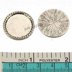 Zinc Alloy Round Beads,Used For Bobby Pins,Cabochon Setting,Plated,Cadmium And Lead Free,Various Color For Choice,Approx 23*2.5mm,Area:Approx 19*1.9mm,Sold By Bags,No 010081