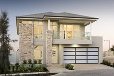 The Hadleigh © Ben Trager Homes | Perth Display Home | Modern Facade Elevation