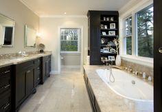 traditional bathroom design by san francisco interior designer Amoroso Design