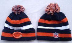 c1c003b250945a Chicago Bears Winter Outdoor Sports Warm Knit Beanie Hat Pom Pom Winter  Knit Hats, Warm