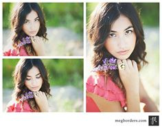 Posh Poses | Solo | Lavender | Nature Beauty | Collage | Senior Girls