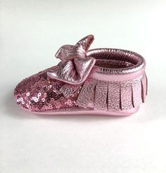 Pixie Dust Sequin  AngelBabyMoccs // Angel Baby Moccasins // Angel Baby // Baby Moccs // Baby Moccasins // Leather Moccasins // Moccasins // Toddler Shoes // Baby Shoes // Baby Gladiators // Baby Shower // Baby Gifts // Soft Sole Shoes