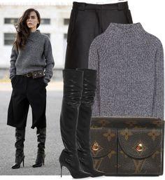 """Evangelie Smyrniotaki: Style Heroine"" by martso ❤ liked on Polyvore"