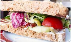 Sandwich du sud au jambon cru