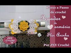 Passo a Passo de Crochê Centro de mesa Flor Aninha por JNY Crochê - YouTube
