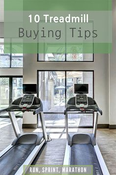 10 useful tips to buy the right treadmill for your personal needs.