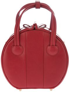 Marc By Marc Jacobs Circular Tote Bag in Red - Lyst Anne Klein, Designer Shoulder Bags, Marc Jacobs Bag, Beautiful Bags, My Bags, Handbag Accessories, Purses And Handbags, Fashion Bags, Perfume