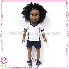 Doll Short curly hair 18 inch custom black fashion doll, View custom black fashion doll , Farvision Girl Product Details from Dongguan Farvision Crafts Co., Ltd. on Alibaba.com