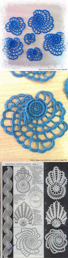 Mis Pasatiempos Amo el Crochet: Encaje Irlandés : Rosas y chaqueta de punto
