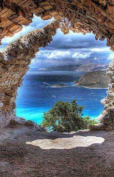 Playa de Papafragas, isla Milos, Grecia
