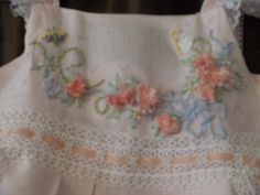 close up of the silk ribbon embroidery