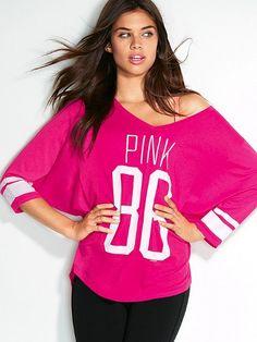 Athletic Tee - Victoria's Secret PINK - Victoria's Secret