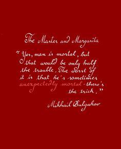 Mikhail Bulgakov - The Master and Margarita #books #quotes