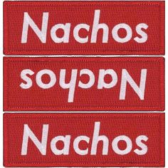 The next patch about to be sold out is the NACHOS supreme. This one likely won't be restocked for months. Currently 15 left in stock.  SpokingFun.bigcartel.com  #nachos #supreme #food #cheese #skate #skateboard #skating #streetwear #redbox #patch #nachosupreme #skater #red by fltodd
