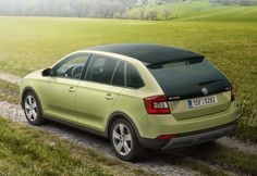 European version of Skoda Rapid had some styling update this year. New model will compete with Volkswagen Golf and attract buyers by lower price and more space. Volkswagen Group, Skoda Fabia, Interior Photo, Offroad, Diesel, Trucks, Cars, Vehicles, Model