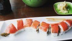 sushi rolls types of \ sushi rolls _ sushi roll recipes _ sushi rolls homemade _ sushi rolls types of _ sushi roll bowl _ sushi roll ideas _ sushi rolls easy _ sushi roll drawing Types Of Sushi Rolls, Easy Sushi Rolls, Homemade Sushi Rolls, Pesto Shrimp, Shrimp Tempura, Salmon Roll, Baked Salmon, Dragon Sushi, Crispy Seaweed
