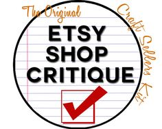Get a detailed Etsy shop analysis showing areas of improvement, errors made, tips and tweaks to improve SEO and increase traffic to your Etsy shop and sell more on Etsy!